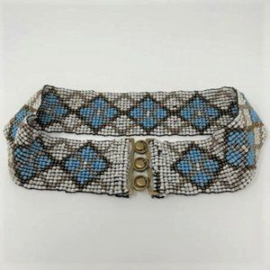 Bohemian Hand Crafted Stretchy Bead Belt